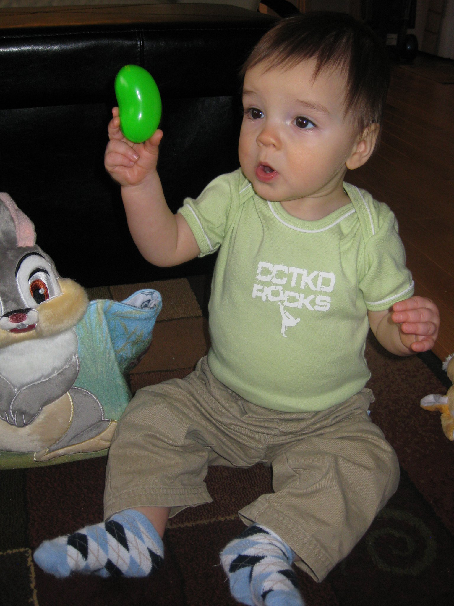 Cody - 1st Egg Hunt
