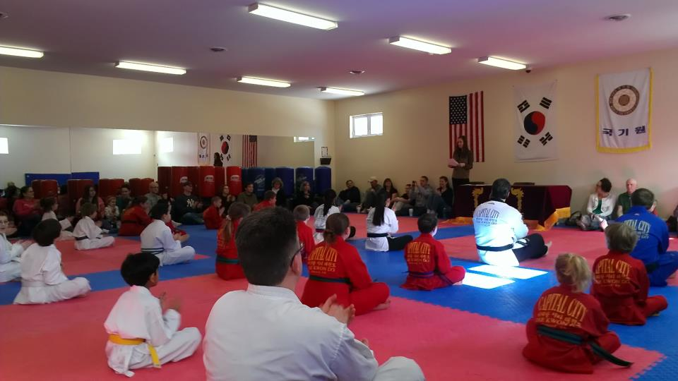 Capital City Tae Kwon Do News