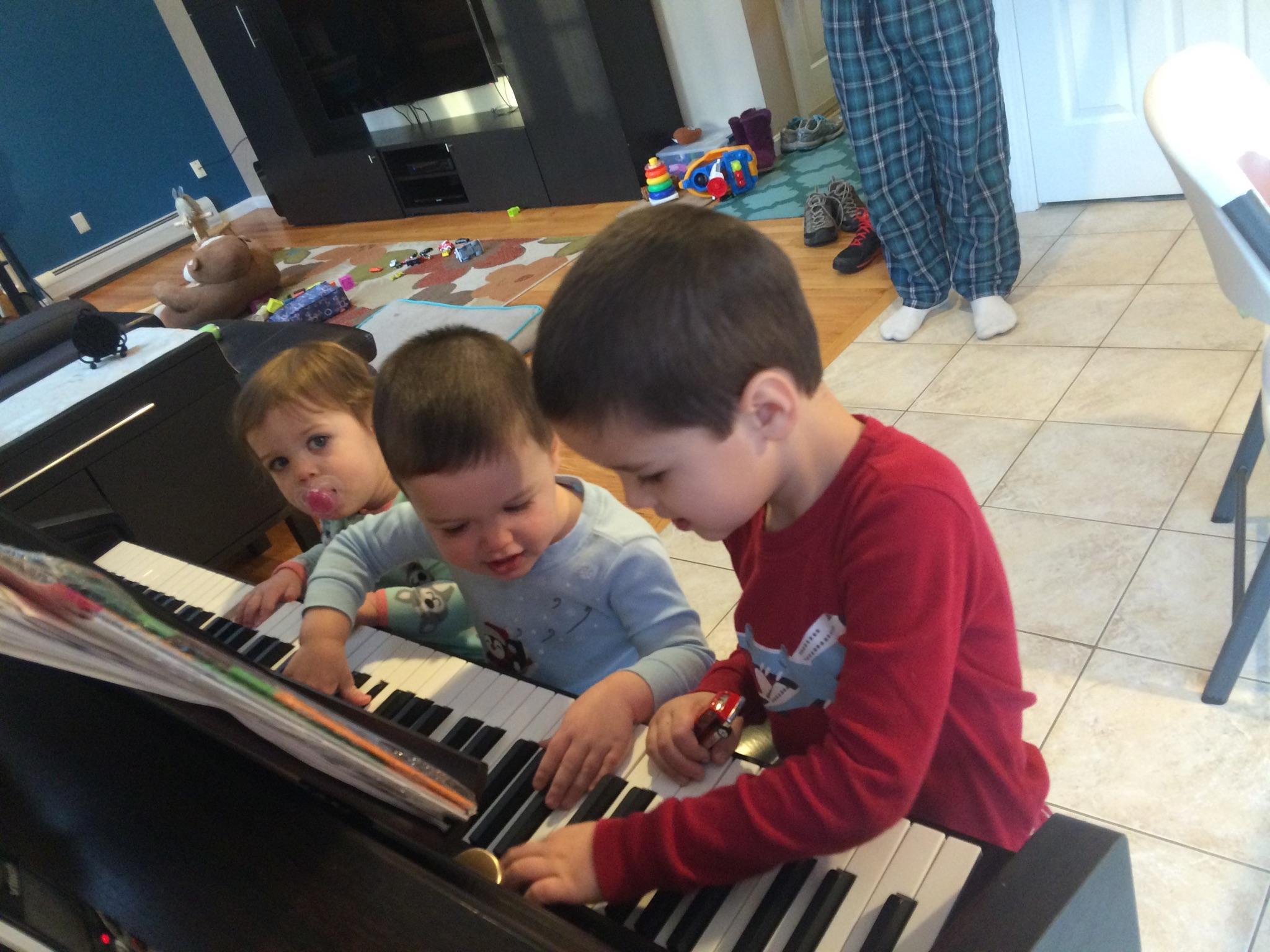 Musical Grand Kids!!!