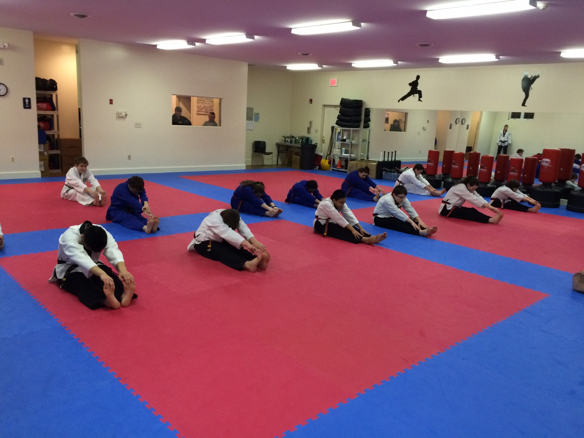 Adult Class Stretching Exercise!