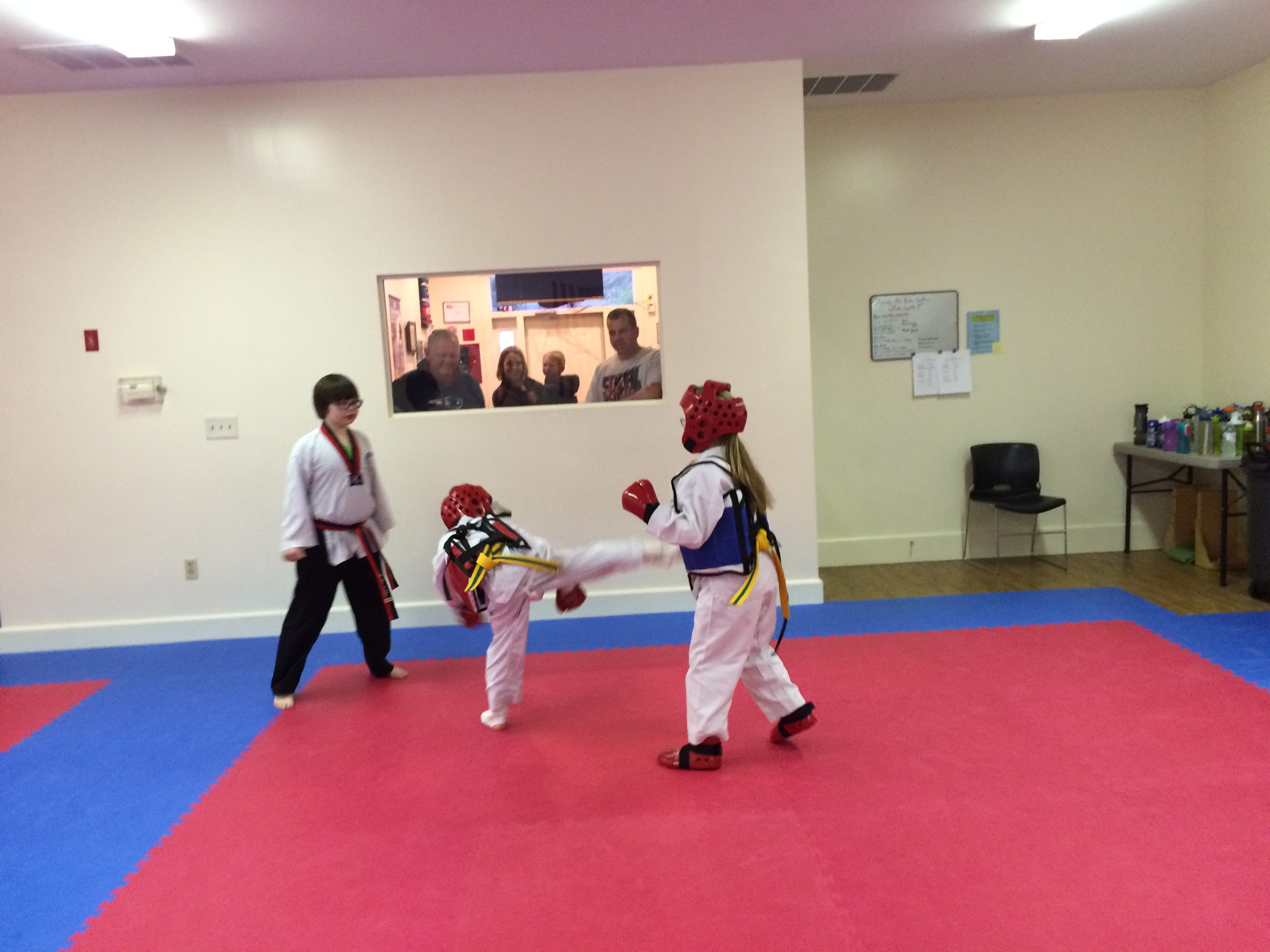 Brother & Sister Sparring!